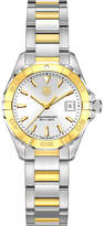 Tag Heuer way1455bd0922 aquaracer gold and stainless steel watch