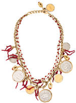 Dolce & Gabbana Multisrand Coin Necklace