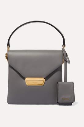 Prada Ingrid Small Leather Shoulder Bag - Gray