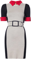 Alice + Olivia Alice+Olivia colour block dress