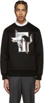Neil Barrett Black Steve McQueen Modernist Pullover