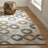 Crate & Barrel Destry Wool Rug