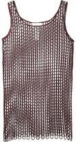 Maison Margiela embroidered mesh dress