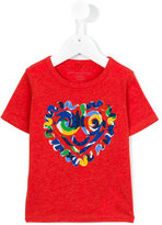 Stella McCartney heart print T-shirt - kids - Cotton/Viscose - 24 mth