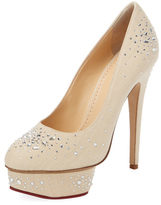 Charlotte Olympia Bejeweled Dolly Platform Pump