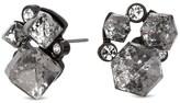 Lipsy Geometric Crystal Cluster Earring