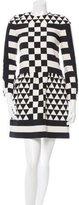 Valentino Fall 2015 Wool & Silk-Blend Dress w/ Tags