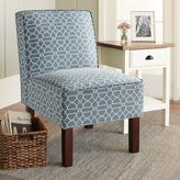 Chatham House Sutton Slipper Chair in Chandra Ocean