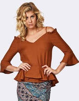 Three of Something Armed Blouse