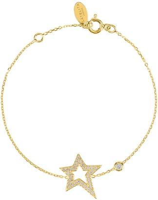 Latelita Open Star Gold Bracelet