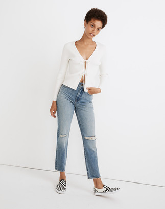 Madewell The Perfect Vintage Jean in Phillips Wash: Knee-Rips Edition