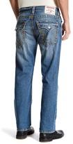 True Religion Destroyed Straight Leg Flap Pocket Jean