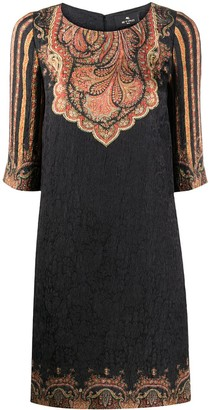 Etro Mini Shift Dress