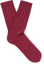 Falke Lhasa Ribbed-Knit Socks