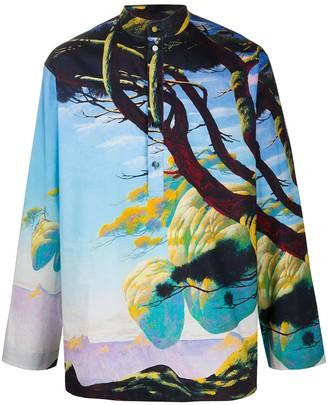 Valentino Floating Island Print Shirt