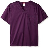 "Dickies Men's Big and Tall Genflex (Contrast) ""Youtility"" V-Neck Scrub Top"