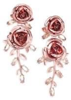 Kate Spade Rose Drop Earrings