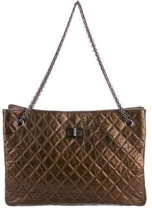 Chanel Quilted Reissue Tote