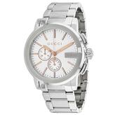 Gucci G-Chrono YA101201 Men's Round Silver Stainless Steel Watch