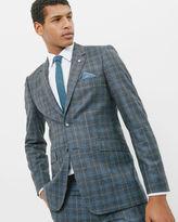 MAZELJ Checked wool jacket