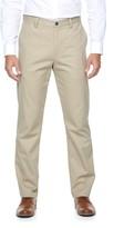 Croft & Barrow Men's Classic-Fit Essential Khaki Flat-Front Pants
