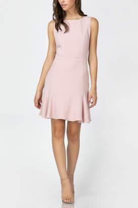 Adelyn Rae Janessa Flounce Hem Dress