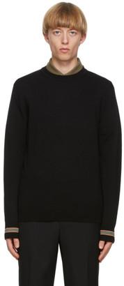 Burberry Black Merino Icon Stripe Paradise Sweater