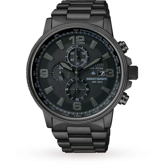 Citizen Eco-Drive Gents Nighthawk Watch