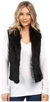 XOXO Quilted Fur Sweater Vest