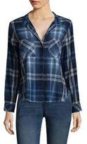 Bella Dahl 2-Pocket Cotton Button-Down Shirt