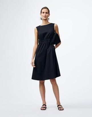 Lafayette 148 New York Classic Stretch Cotton Tryston Dress