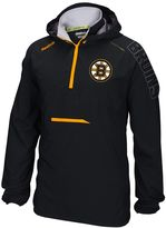 Reebok Men's Boston Bruins Center Ice Anorak Pullover Jacket