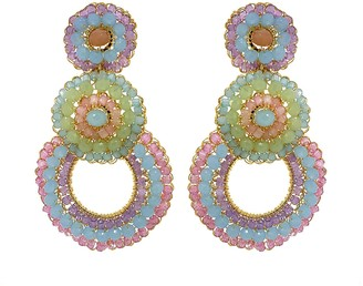 Pastel Hand Made Crochet Earrings