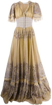 Etro Paisley Printed Maxi Dress