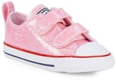 Converse Baby Girl's Chuck Taylor All Star Ox Glitter Sneakers