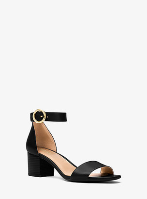 Michael Kors Lena Leather Sandal