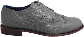 Lords Of Harlech Follie Brogue In Flannel