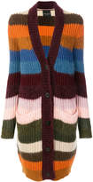 Roberto Collina striped long cardigan