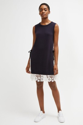 French Connection Marais Lace Mix Knit Dress