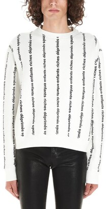 Enfants Riches Deprimes Logo Striped Sweater