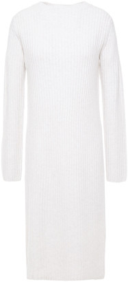 Vince Ribbed Wool And Cashmere-blend Dress