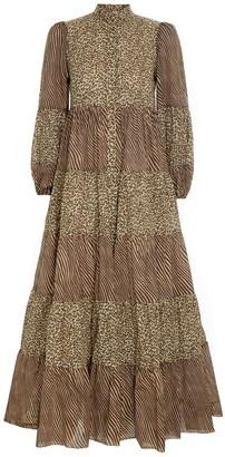 Zimmermann Empire Tiered Dress