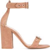 Gianvito Rossi Praline sandals - women - Suede/Leather - 36
