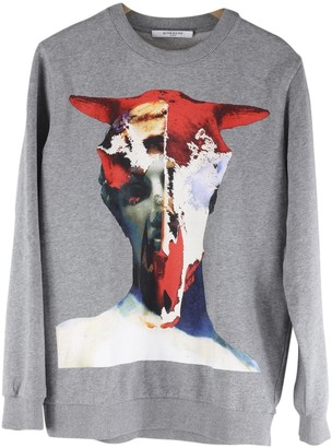 Givenchy Grey Cotton Knitwear & Sweatshirts