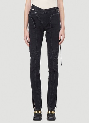Ottolinger Slim Leg Wrap Jeans
