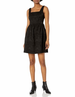 Jump Women's Stretch Jacquard Sleeveless Party Dress