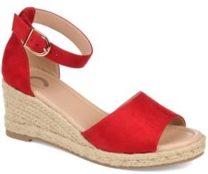 Journee Collection Women's Keana Wedge Sandal Women's Shoes