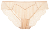 Blush Lingerie Scalloped Trim Lace Bikini