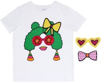 Stella McCartney Appliqued cotton T-shirt
