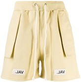 Val Kristopher logo patch shorts